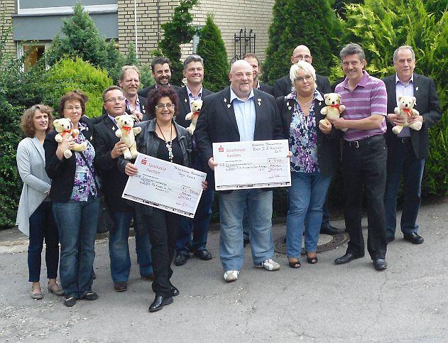 Haarscharfe Spendenaktion Für Den Teddy Verein Teddys Für